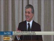 Abdullah Gül, Davutoğlu'nu işaret etti