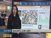 Dolar/TL 2.40'ı aştı
