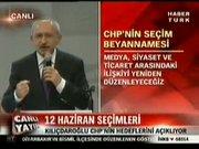İşte CHP'nin seçim programı 2