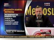 Başbakan, Kadıköy-Kartal metro açılışında!