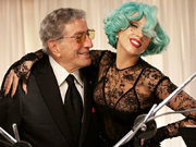 "Lady Gaga ve Tonny Bennett'dan ""The Lady is a Tramp"""