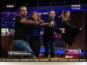 Canlı yayında Gangnam Style!