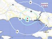 İstanbul'da deprem!