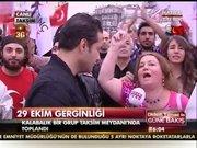 Taksim Meydanı'nda toplandılar!