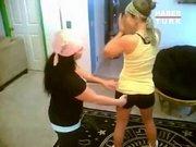 Bu kızlar çok çılgın!