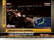 Japonya'da deprem!