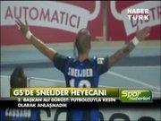 Galatasaray'dan Sneijder açıklaması