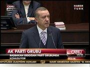 Başbakan, partisinin grup toplantısında konuştu!