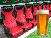Yedek kulübesinde bira keyfi