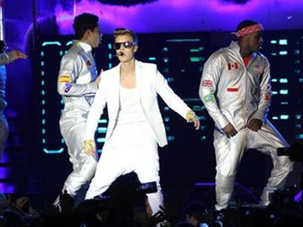 Justin Bieber konserinin ayrntlar...