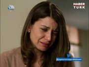 Gözyaşlarına boğuldu!