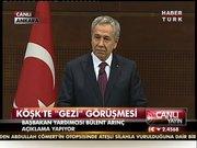 """Bülent Arınç'tan """"Gezi"""" açıklaması!"""