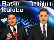 Basın Kulübü - 14 Haziran 2013 - Ali Babacan - 1/2
