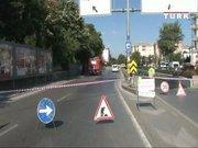 Üsküdar'da doğal gaz borusu patladı