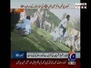 Pakistan'da cenazeye bombalı saldırı