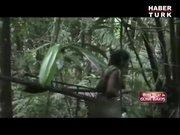 Brezilya'daki ilkel kabile böyle görüntülendi
