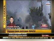 Obama'dan katliam tepkisi
