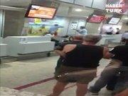 Havalimanında şaşırtan olay