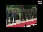 Cumhurbaşkanı Gül'ün tören kıtasındaki askerler bayıldı!