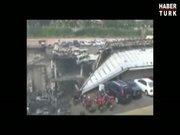 AVM saldırısının dehşeti görüntülere yansıdı