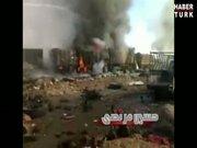 1.5 ton patlayıcı ile intihar saldırısı