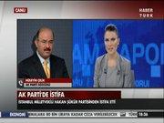 Hakan Şükür'ün istifasına AK Parti'den ilk yorum!