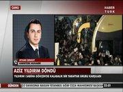 Aziz Yıldırım İstanbul'da