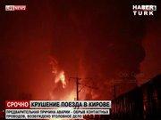 Rusya'da tren patlaması