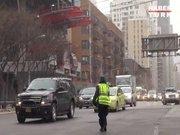Trafik polisi üşürse...