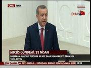 Başbakan Erdoğan özel oturumda konuştu