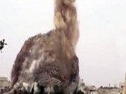 40 tonluk bomba böyle patlatıldı