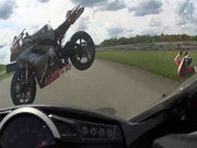 Korkunç motosiklet kazası!