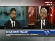 CHP lideri Kemal Kılıçdaroğlu Basın Kulübü Özel'de / 3