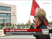 Ergenekon, Balyoz ve Askeri Casusluk davalarında 997 asker yargılanıyor