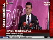 HDP'nin Köşk adayı Selahattin Demirtaş