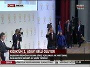Başbakan Köşk adayının açıklanacağı salonda