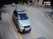 Ankara'da cinayet öncesi takip güvenlik kamerasında