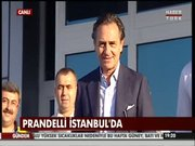Prandelli İstanbul'da