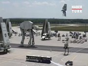Star Wars setinden inanılmaz görüntüler!