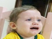 Brezilyalı küçük kız Neymar için böyle ağladı