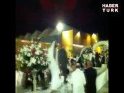 İsrailli çift düğününü böyle terk etti