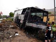 Kayseri'de belediye otobüsü taksiye çarptı: 4 ölü