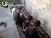 Suriyeli çocukların infaz oyunu