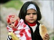 Gazze'ye yapılan kanlı saldırılardan en çok çocuklar etkileniyor