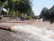 Edirne'deki şiddetli sel hasara yol açtı