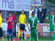 İsrailli futbolculara saldırı
