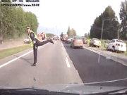 Rusya'da trafik polisi olmak!