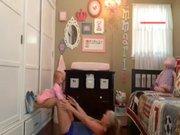 Bebekli annenin sporu böyle olur