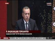 Erdoğan son kez konuştu