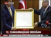 İşte Cumhurbaşkanı Erdoğan'ın mazbatası